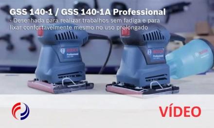 Lixadeira de Palma: GSS 140-1/GSS 140-1A