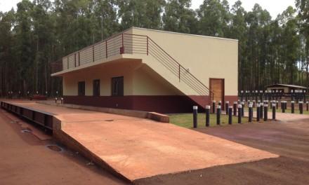 Escritório na Fazenda Pindorama, em Ponta Porã, MS.