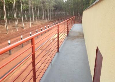 Comercial Dourados: Escritório na Fazenda Pindorama, em Ponta Porã, MS.
