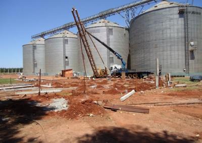 Comercial Dourados: Silos e Armazéns Graneleiros em Caarapó, MS.