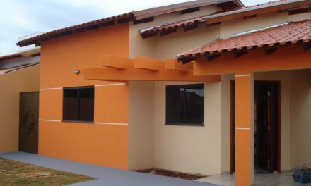 Obra Residencial no Jardim Água Boa em Dourados, MS.