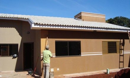Obra Residencial no bairro Centro em Dourados, MS.