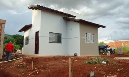Obra Residencial no Campo Dourado em Dourados, MS.