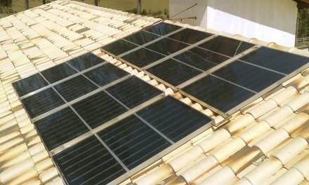 Economize! Sistema completo de  AQUECIMENTO DE ÁGUA com ENERGIA SOLAR.