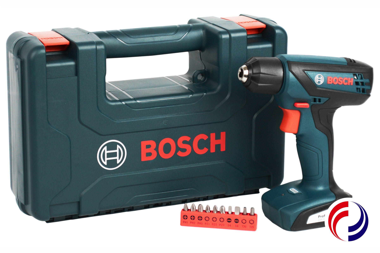 Comercial Dourados ferramentas: Furadeira e parafusadeira à bateria GSR 1000 SMART BOSCH